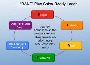 Bant Plus Sales Ready Leads